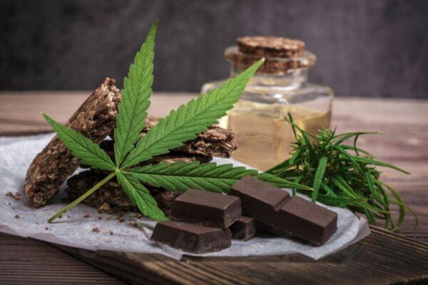 chocolate cannabis dark milk