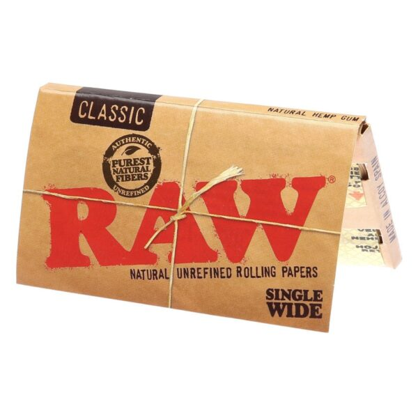 RAW Single Wide rolling papers
