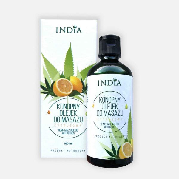 oleo de massagem com cannabis