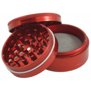 Fully Aluminium Red Grinder 50mm