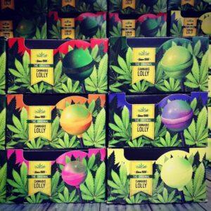 lollipops cannabis, flavors