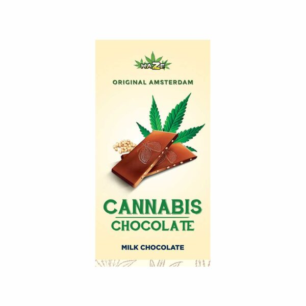 HaZe Cannabis Milk Chocolate