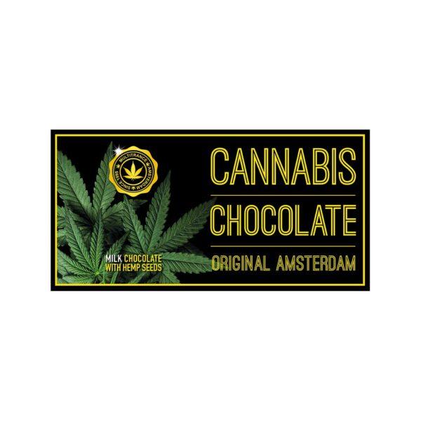 Original Amsterdam Cannabis Milk Chocolate