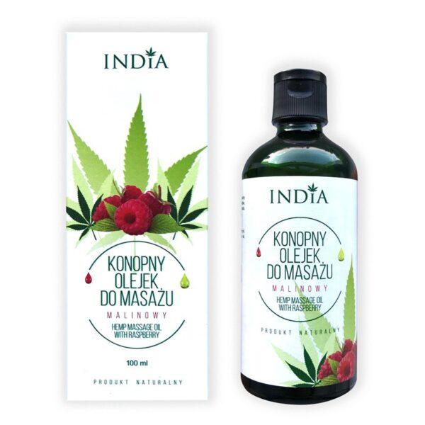 oil massage raspberry