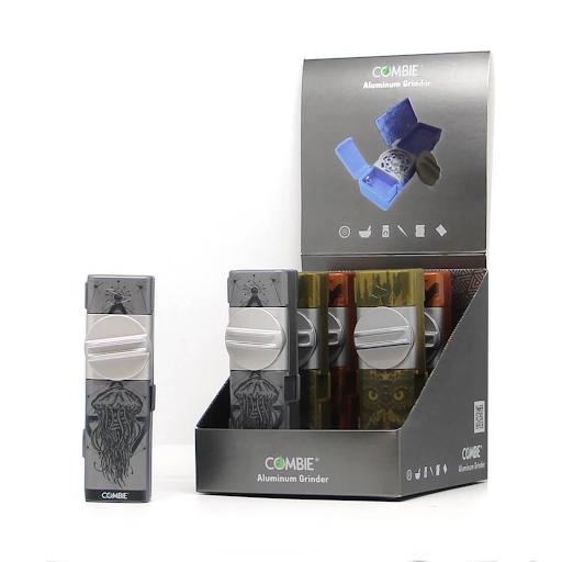 All-In-One pocket grinder aluminium – Flying dutch