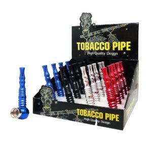 Aluminium Vortex Tobacco Herbs Pipes