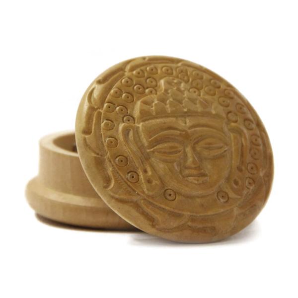 Buddha 1 Wood Grinder 50mm