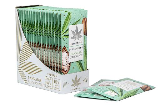 Cannaline Cannabis Milk ChocolateTHC Free