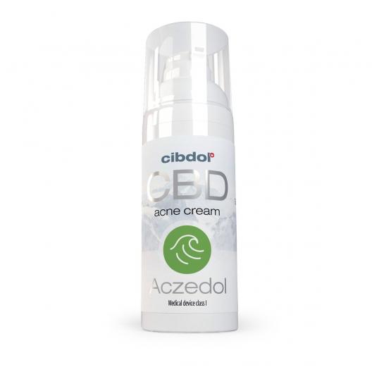 Cibdol - Aczedol Anti-Acne 100mg CBD Cream (50ml)