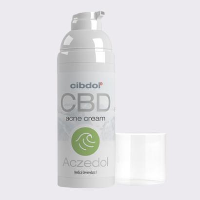 Cibdol Aczedol Anti-Acne 100mg CBD Cream (50ml)