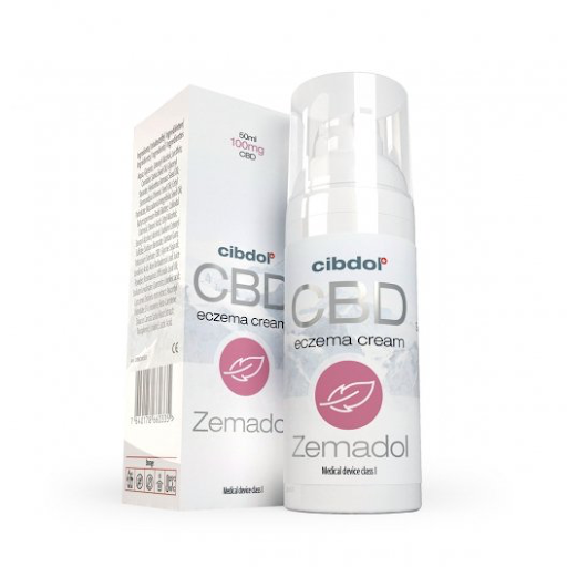 Cibdol - Zemadol Eczema 100mg CBD Cream