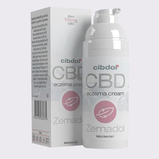 Cibdol -Zemadol Eczema 100mg CBD Cream
