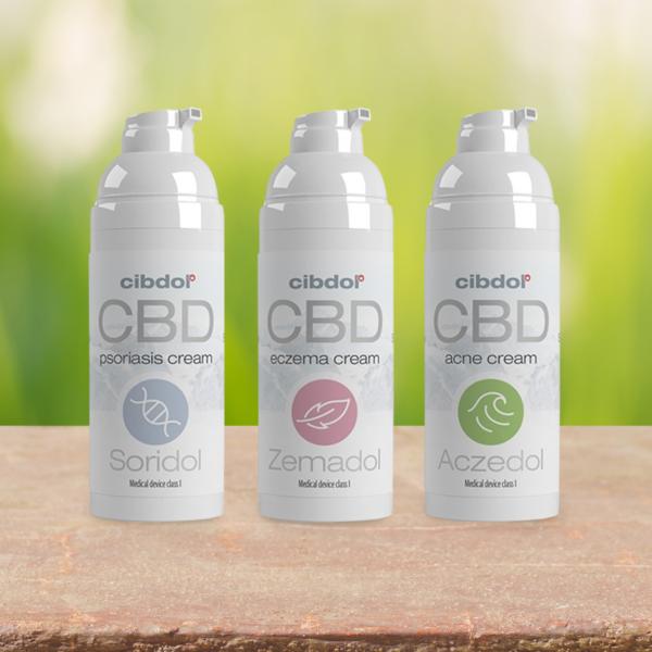 Cibdol - Soridol Psoriasis Cell Growth 100mg CBD Cream