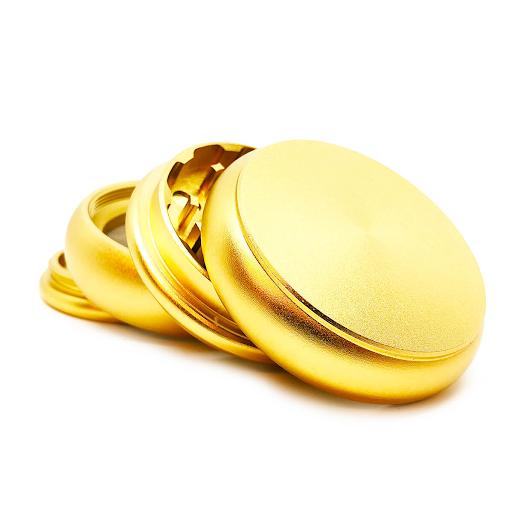 Fat Buddy Gold Aluminium Grinders 55mm – 4 Parts