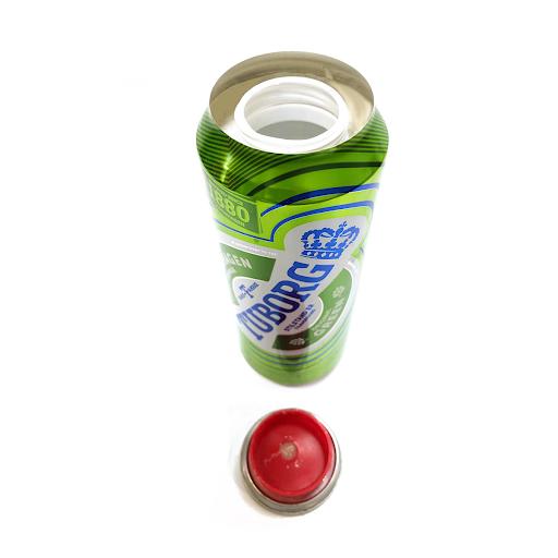 Green BeerAluminium Smart Stash Can