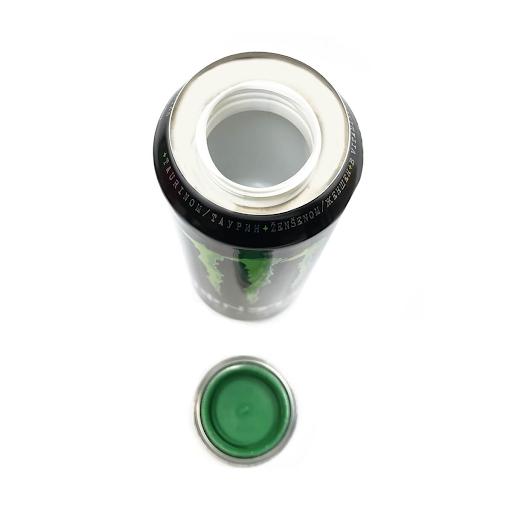 Green EnergyDrink Aluminium Smart Stash Can