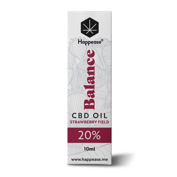 Happease Balance 20% CBD Oil Strawberry Field