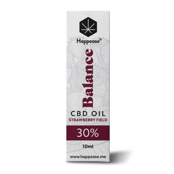 Happease Balance 30% CBD Oil Strawberry Field