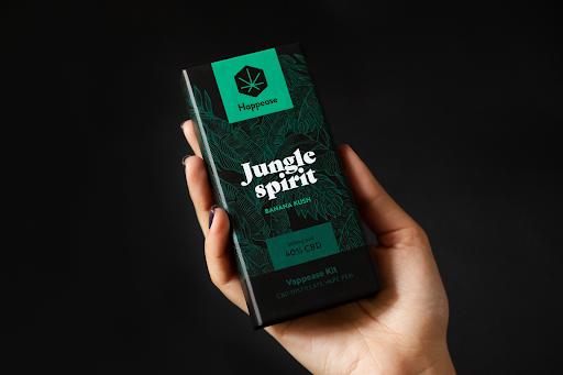 Happease Classic Jungle Spirit 50% CBD Vaping Pen