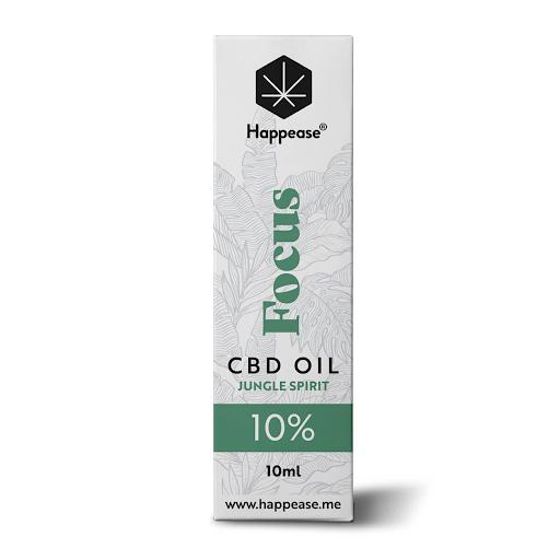 Happease Focus 10% CBD Oil Jungle Spirit