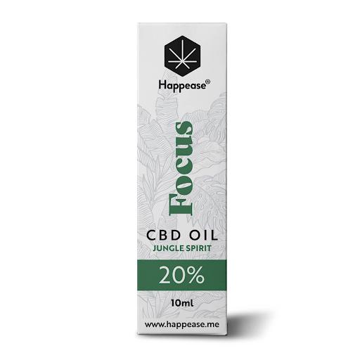 Happease Focus 20% CBD Oil Jungle Spirit