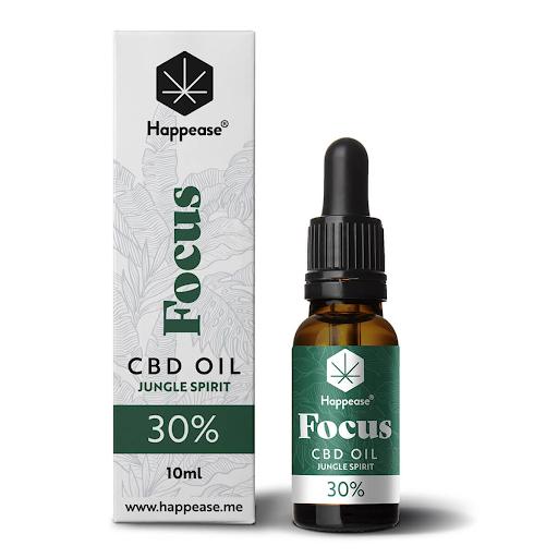 Happease Focus 30% CBD Oil Jungle Spirit