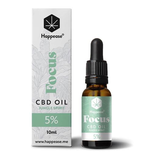 Happease Focus 5% CBD Oil Jungle Spirit
