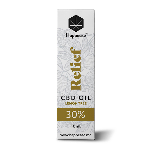 Happease Relief 30% CBD Oil Lemon Tree