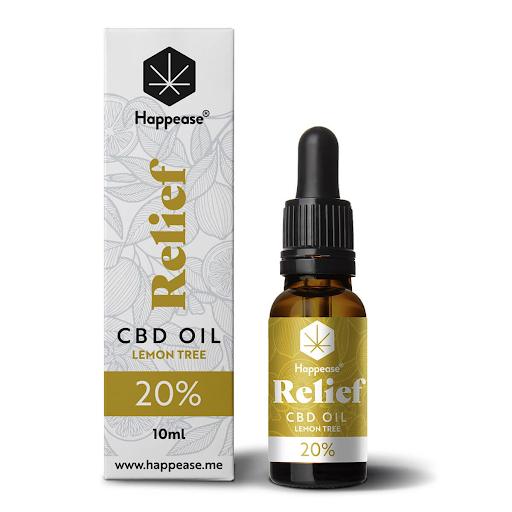 Happease Relief 20% CBD Oil Lemon Tree