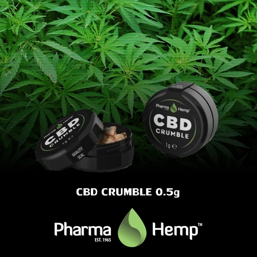 Pharma Hemp Full Spectrum 90% CBD Crumble