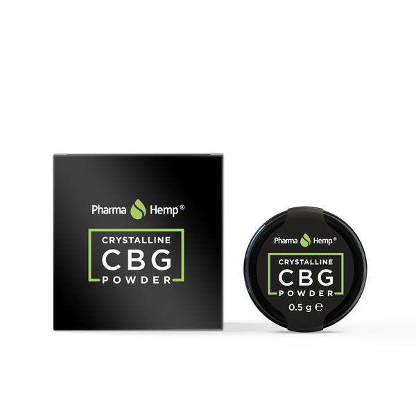 Pharma Hemp Full Spectrum 99.6% CBG Crystalline Powder 0.5g)