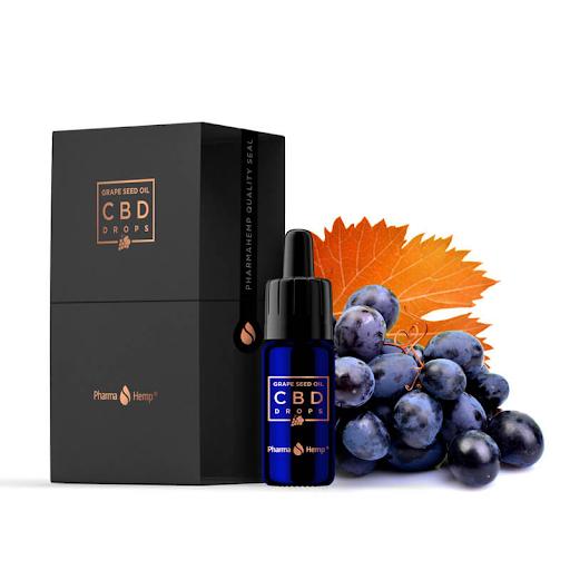Pharma Hemp Grape Seeds 15% CBD Oil with Gift Box