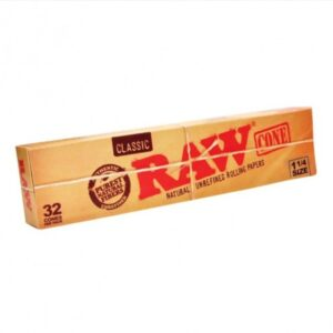 RAW 1:4 slim cigarette rolling papers hemp rolling papers