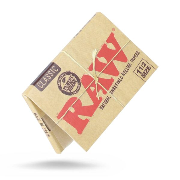 RAW Classic rolling papers 11/2 ROLLING CLASSIC PAPER
