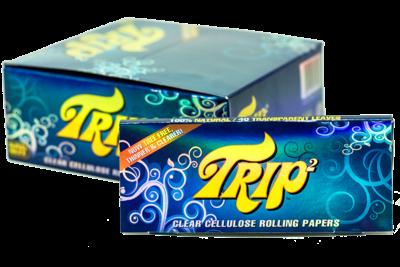Trip Transparent Kingsize Slim Rolling Papers trip