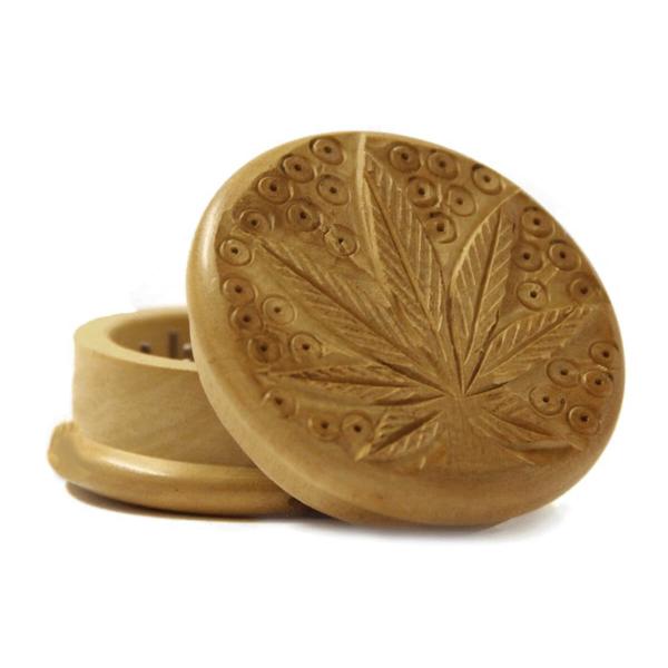 Weed Leaf 1 Wood Grinder 50mm – 2 Parts