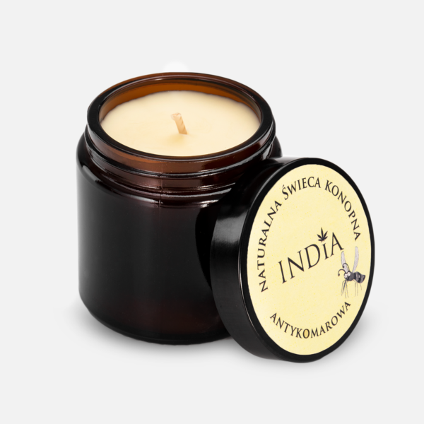 India Anti-Mosquito Hemp Candle
