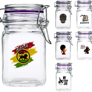 Juicy Jay Tobacco And Herbs Glass Jars Small
