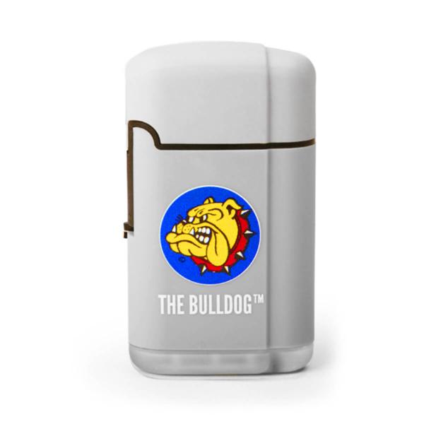 the bulldog original torch windproof lighter grey