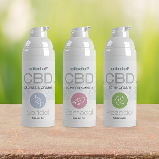 Cibdol - Aczedol Anti-Acne 100mg CBD Cream