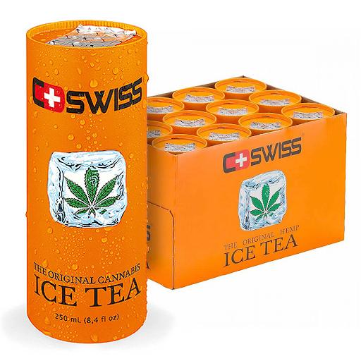 C-Swiss Cannabis Ice Tea THC Free 250ml