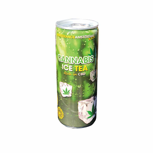 Cannabis Ice Tea Soft Drink 250ml THC Free