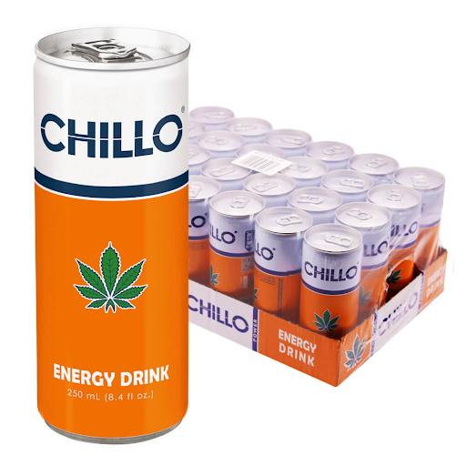 Chillo Cannabis Energy Drink THC Free