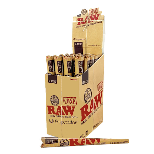 RAW Emperador Unrefined Cones
