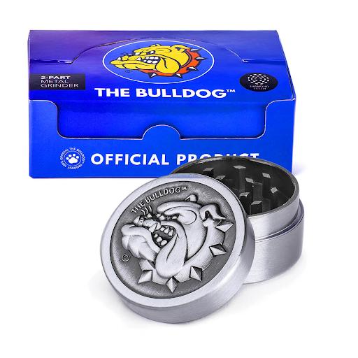 The Bulldog Original Metal Grinder 35mm – 2 Parts