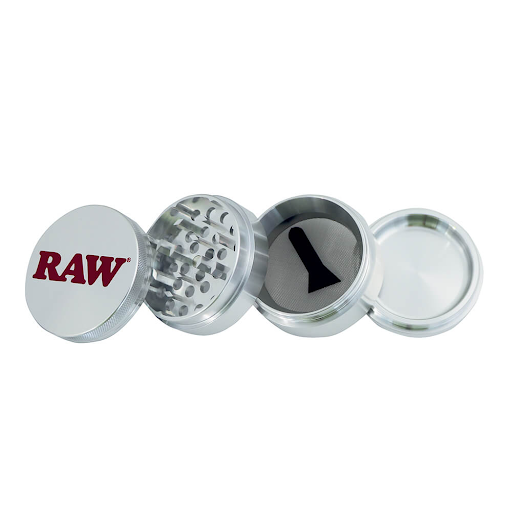 RAW Original Metal Grinder 4 Parts – 56mm + Giftbox