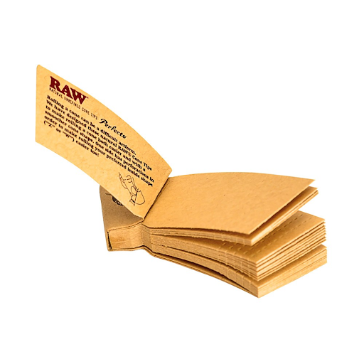 RAW Cone Curved Tips PAPERS HEMP