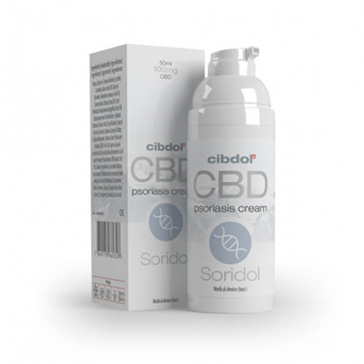 Cibdol Soridol Psoriasis Cell Growth 100mg CBD Cream