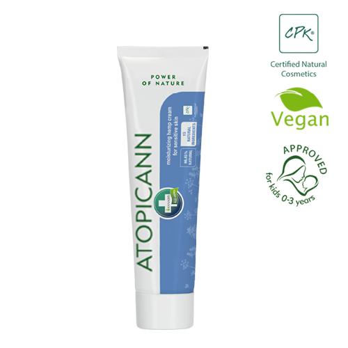 Cannabis Atopica Moisturizing Hemp Cream Sensitive Skin