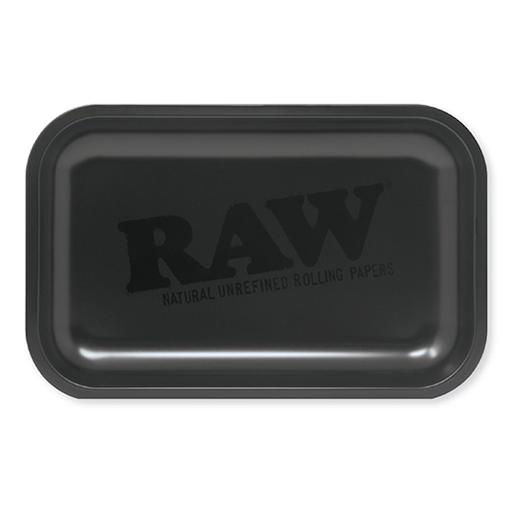 RAW All Black Metal Rolling Tray